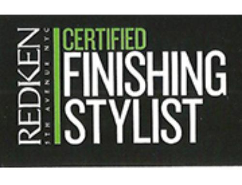 Certificado – FINISHING STYLIST