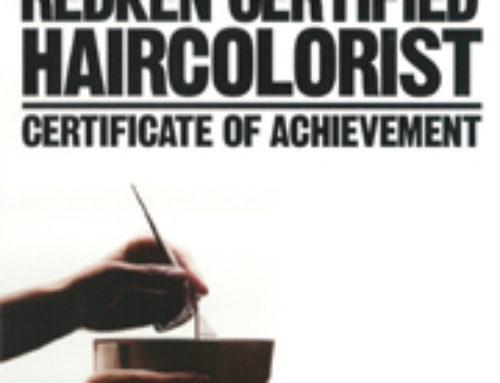 Certificado – HAIRCOLORIST